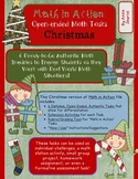 Holiday Math in Action: Christmas Ready-to-Go Open-Ended Math Tasks Common Core