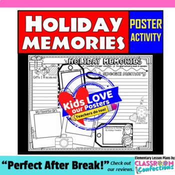 Holiday Memories Poster Activity