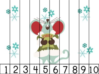Holiday Mice Number Puzzles
