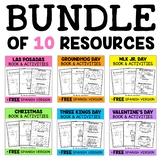 Mini Books and Activities - Winter Bundle