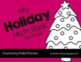 Holiday Mini Math Books! (No Prep)