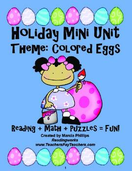 Holiday Mini Unit- Easter Eggs