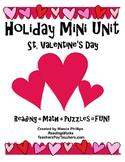 St. Valentine's Day Mini Unit