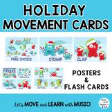 Holiday Monster Freeze Dance, Brain Break, Movement Activity