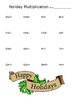Holiday Multiplication