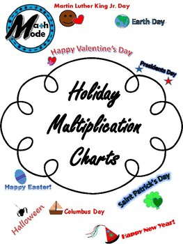 Holiday Multiplication Chart