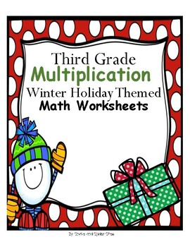 Christmas Math - Multiplication Fluency and Word Problems