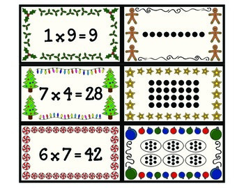 Holiday Multiplication Memory
