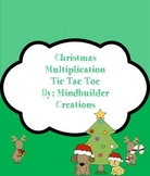 Holiday Multiplication Missing Factors Tic Tac Toe