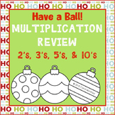 Holiday Multiplication Review