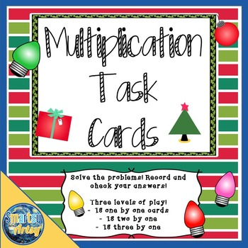 Holiday Multiplication Task Cards