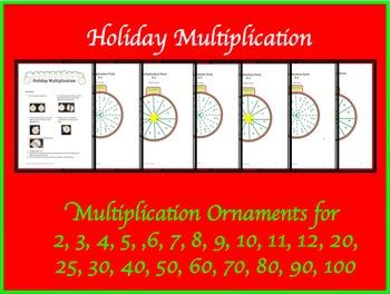 Holiday Multiplication by Amanda's Adventurous Education