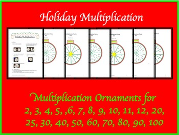 Holiday Multiplication by Amanda's Adventurous Education