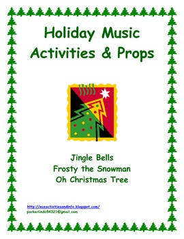 Holiday Music Activities