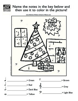 Holiday Music Activity Packet