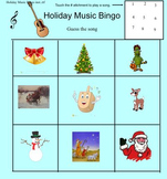Holiday Music Bingo