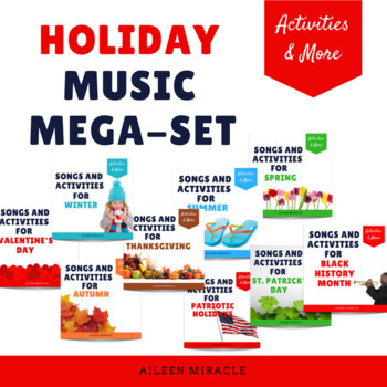 Holiday Music Mega-Set {Money-Saving Bundle}