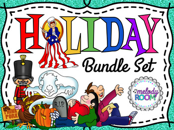 Holiday Music Slide Show Bundle Set