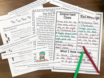 Holiday Mystery Game - Students use inferencing to solve the Christmas Mystery!