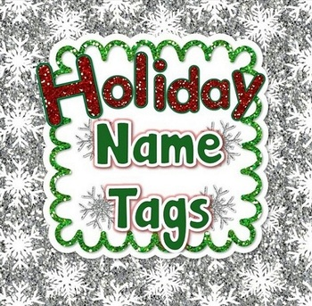 Winter Name Tags (Labels)