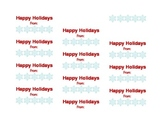 Holiday Name Tags