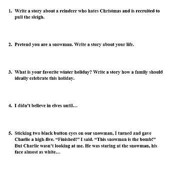 Holiday Narrative