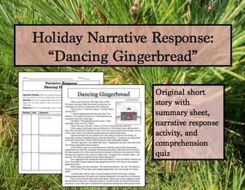 Holiday Narrative Response: Dancing Gingerbread