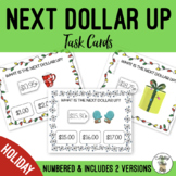 Holiday Next Dollar Up Field of 3 Task Cards