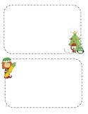 Holiday Notes Activity