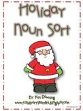 Holiday Noun Sort Activity
