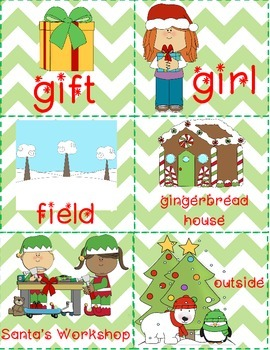 Holiday Noun Sort FREEBIE