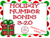 Holiday Number Bonds 3-20, now with Part Part Whole mat!