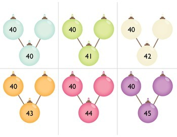 Holiday Number Bonds:  Decomposing Tens and Ones - Making 10 - Making 100