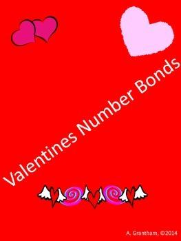 Holiday Number Bonds Volume 1 (Valentines, St Patrick's, Flag and Summer)