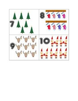 Holiday Number Hunt 1-10