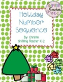 Number Sequencing Pack - Christmas Edition
