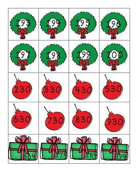 Holiday Number patterns Center 2nd grade