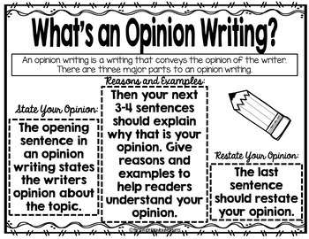 Holiday Opinion Writing