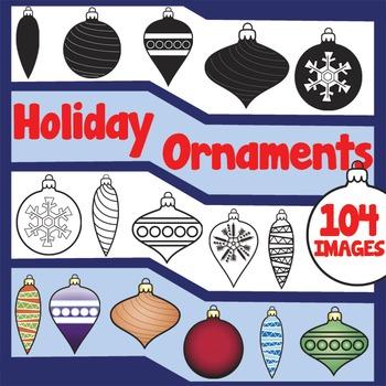 Holiday Ornament Clip Art