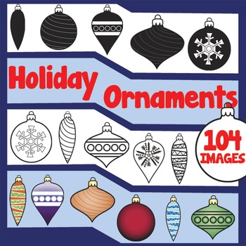Holiday Ornament Clip Art