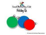 Holiday Ornament Qs- Question Activity