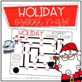 Ozobot Holiday Maze