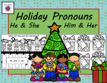 Holiday PRONOUNS Teaching   he/she    his/hers  Lots of fu
