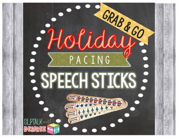 Holiday Pacing Sticks