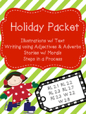 Holiday Packet - Reading, Writing & Cookie Activity RL 2.2   RL 2.3   RI 2.3