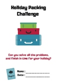 Holiday Packing Challenge- Money.