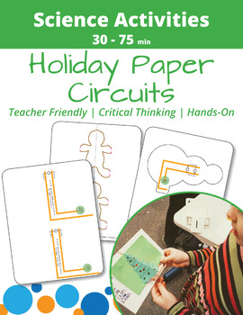Holiday Paper Circuit Templates