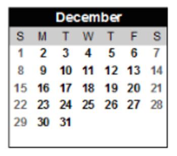 Holiday Parent Gift Compound Word Calendar