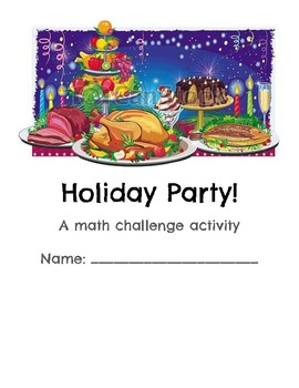 Holiday Party Challenge Math