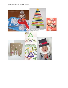 Food Allergy: Holiday Party Crafts Without Food